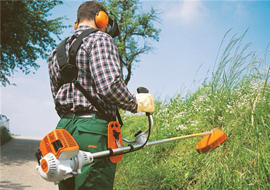 мотокоса для травы
