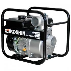 Грязевая бензиновая мотопомпа KOSHIN STV-80X (Япония)