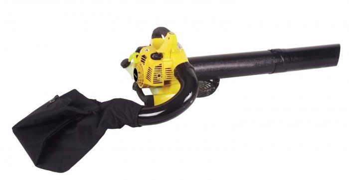 Бензиновый садовый пылесос-воздуходувка Champion GBV326S