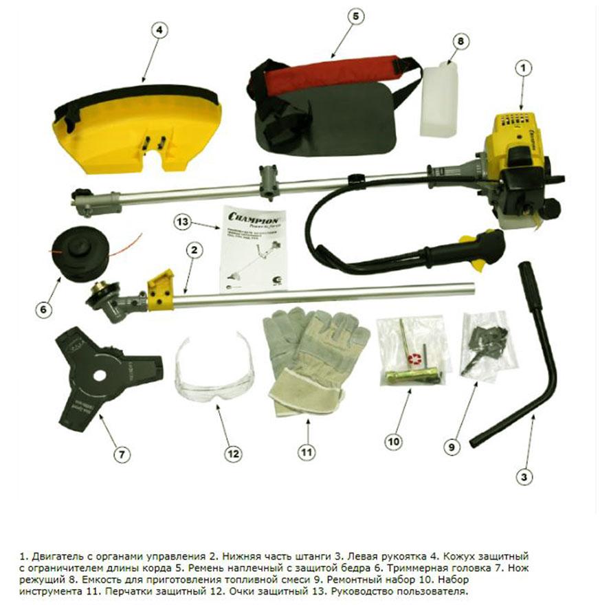 Триммер Бензиновый Инструкция По Применению Видео - фото 9