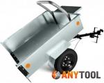 Прицеп мотоблочный ТПМ-350-1 разборный, самосвальный, оцинкованный