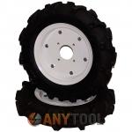 Резиновые пневмо колёса для мотоблока 4.00-10 (пара)