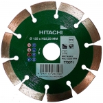 Алмазный диск HITACHI 125 x H22,23 mm (сегмент)