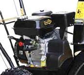 Зимний двигатель с верхним расположением клапанов